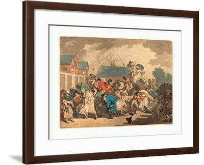 Thomas Rowlandson (British--Framed Giclee Print