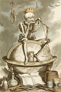 Death's Dance by Thomas Rowlandson