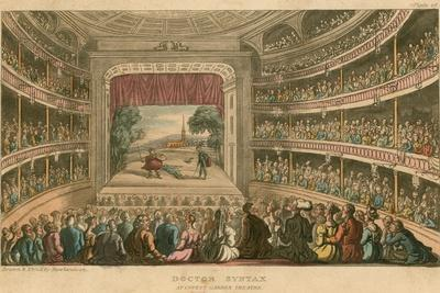 Dr Syntax at Covent Garden Theatre, London