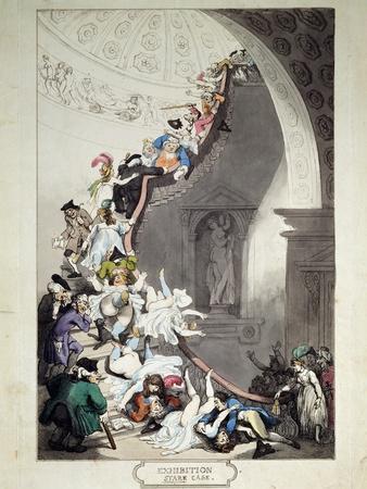Exhibition Stare Case, 1811