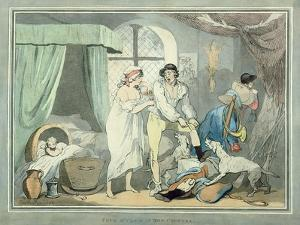 """Four O'Clock in the Country"", Pub. 1788 by Thomas Rowlandson"