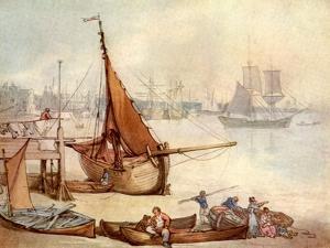 Greenwich watercolour by Thomas Rowlandson
