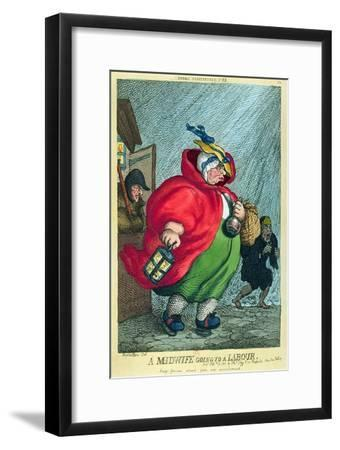 Midwife Going to a Labour, 1811