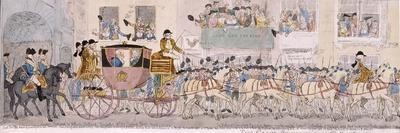 Procession of King George III and Queen Charlotte to St Paul's Cathedral, London, 1789