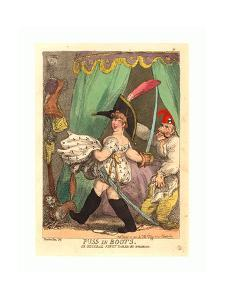 Puss in Boots by Thomas Rowlandson