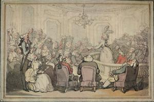 'The Concert. From Matthew Bramble's Trip to Bath.', c1780-1820, (1923) by Thomas Rowlandson