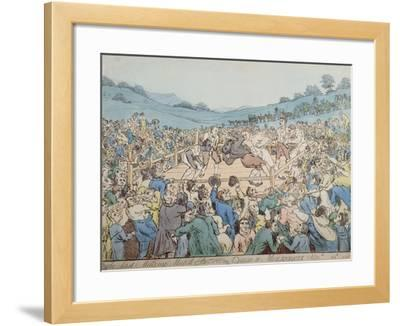 The Last Milling Match Between Cribb and Molineaux, September 28th 1811
