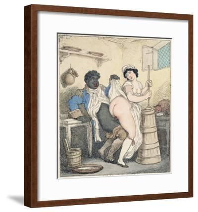 The Negro Footman and the Milkmaid