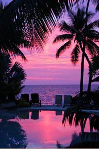 Sunset in Hawaii / Pacific Paradise by Thomas Ruecker