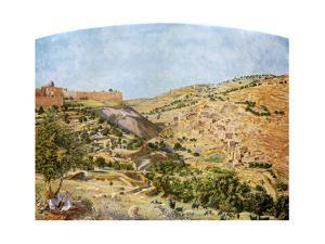 Jerusalem, 1854-1855 by Thomas Seddon