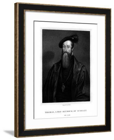 Thomas Seymour, Baron Seymour of Sudeley, Younger Brother of Jane Seymour-W Holl-Framed Giclee Print