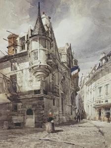 L'hôtel de Sens by Thomas Shotter Boys
