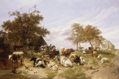 A Dairy Farm on the Marshes, East Kent, 1859