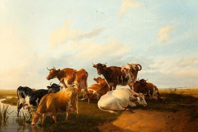 Evening in the Meadows, 1871
