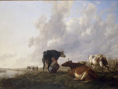 The Milkmaid, 1836