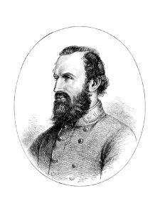 Thomas 'Stonewall' Jackson, Confederate General of the American Civil War
