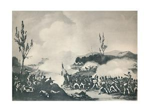 'Attack on the Road to Bayonne, December 13, 1813', c1813 (1909) by Thomas Sutherland