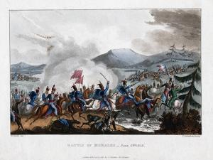 Battle of Morales, 1813 by Thomas Sutherland
