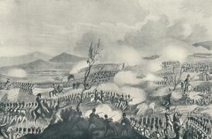 'Battle of Nivelle, November 10, 1813', 1815 (1909) by Thomas Sutherland