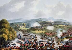 'Battle of Quatre Bras, June 16th 1815' by Thomas Sutherland