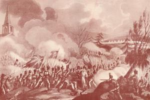 'Battle of St. Jean De Luz, December 10, 1813', c1815 (1909) by Thomas Sutherland
