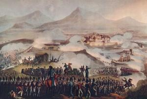 'Battle of Toulouse, April 10 1814', 19th century (1909) by Thomas Sutherland