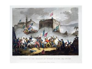 'Defence of the breach at St Jean d'Acre, May 8th 1799', 1815 by Thomas Sutherland