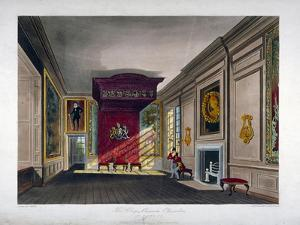 Interior View of St James's Palace, Westminster, London, 1816 by Thomas Sutherland