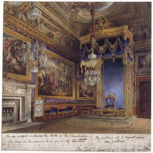 Interior View of the King's Audience Chamber in Windsor Castle, Berkshire, 1818 by Thomas Sutherland
