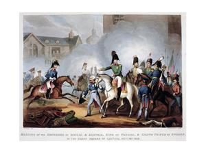 The Allied commanders at Leipzig, 1813 (1815) by Thomas Sutherland