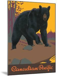 Visit Canada - Grizzly Bear - Canadian Pacific Railway by Thomas (Tom) Hall