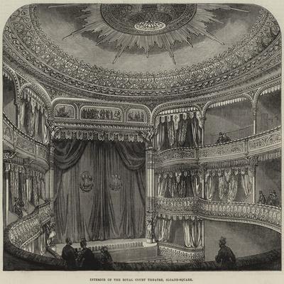 Interior of the Royal Court Theatre, Sloane-Square