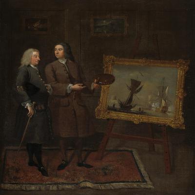 Thomas Walker and Peter Monamy, C.1735-Gawen Hamilton-Giclee Print