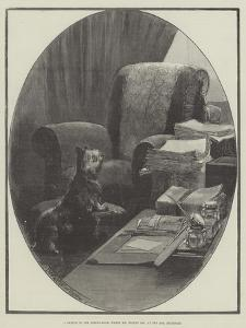 A Sketch in the Dining-Room, Where Mr Bright Sat, at One Ash, Rochdale by Thomas Walter Wilson