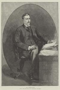 Mr H Rider Haggard, Author of King Solomon's Mines, She, Allan Quatermain, and Cleopatra by Thomas Walter Wilson