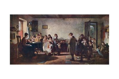 'A Dame's School', 1845, (1904)