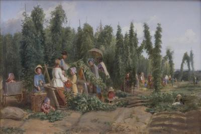 Hop Garden, 1858