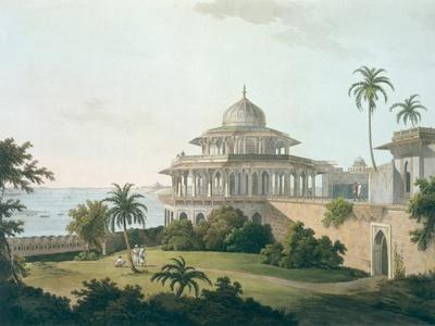 Chalees Satoon, Fort of Allahabad, River Jumna, c.1795