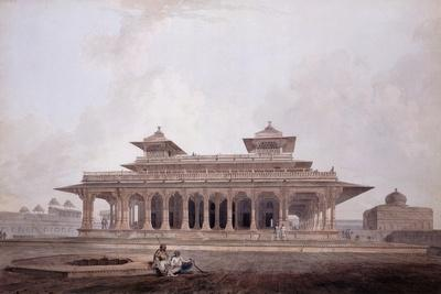 Part of the Palace Within the Fort of Allahabad