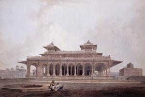 Part of the Palace Within the Fort of Allahabad by Thomas & William Daniell