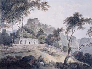 Rajghat, Rohtasgarh, Bihar by Thomas & William Daniell