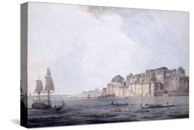 Ramnagar, Near Benares [Varanasi], Uttar Pradesh, C. 1788-9 (Pencil, Pen and Black Ink, W/C)