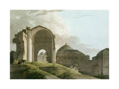 Ruins of the Palace at Madurai, Engraved by Thomas and William