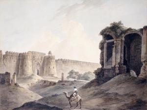 The Purana Qila, Delhi by Thomas & William Daniell