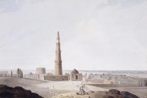 The Qutb Minar, Delhi, C. 1789 by Thomas & William Daniell
