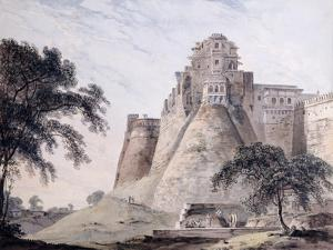 View of the Fort, Jaunpur, Uttar Pradesh by Thomas & William Daniell