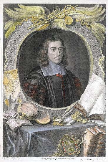 Thomas Willis, 17th Century English Physician, 1742-George Vertue-Giclee Print