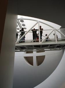 Interior, Museum of Modern Art, San Francisco, U.S.A. by Thomas Winz