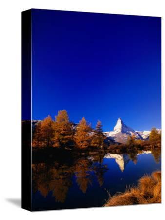 "Peak of the ""Matterhorn,"" Zermatt, Valais, Switzerland"