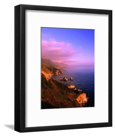 Sunset on the Big Sur Coastline, California, USA